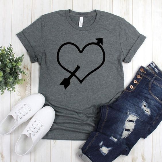 Arrow Heart T-Shirt AZ01