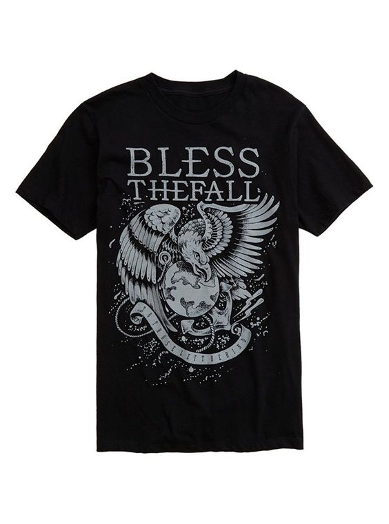 Blessthefall Eagle T-Shirt DS01