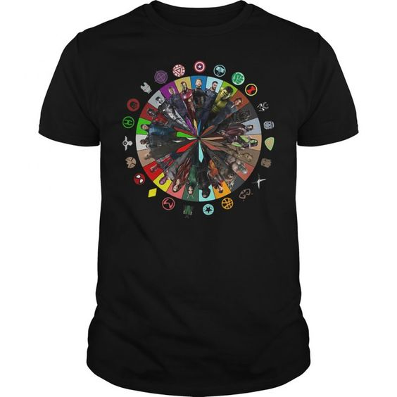 Marvel Avengers Circle T-shirt DS01