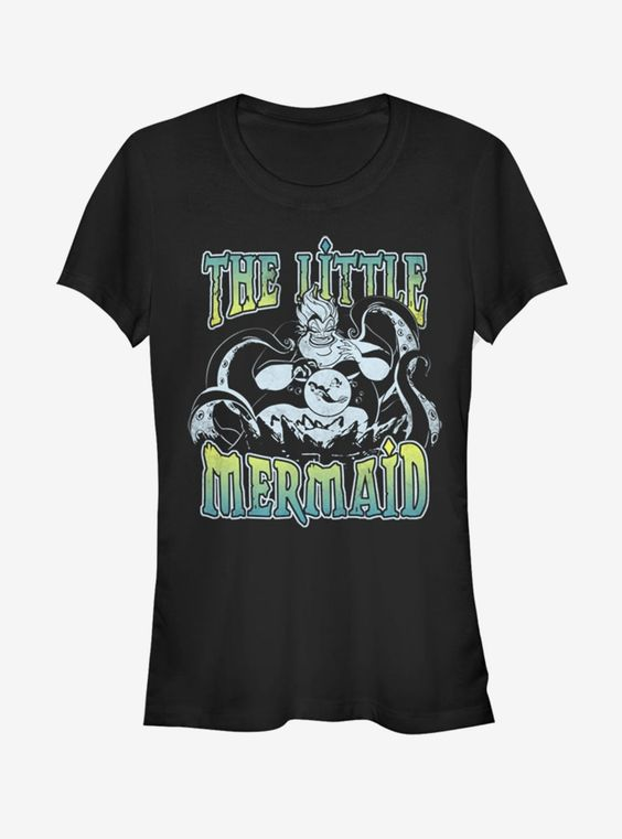 The Little Mermaid Sea Witch Girls T-Shirt DS01