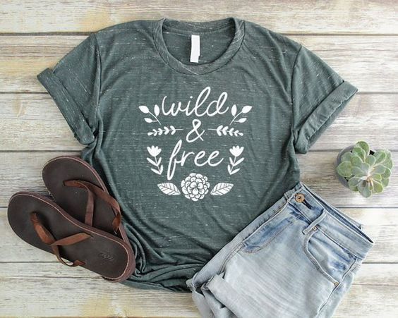 Wild and Free T-Shirt AZ01