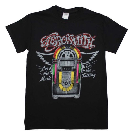 Aerosmith Juke Box T-Shirt EL01