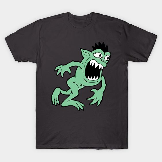 Angry Green Monster T-Shirt EL
