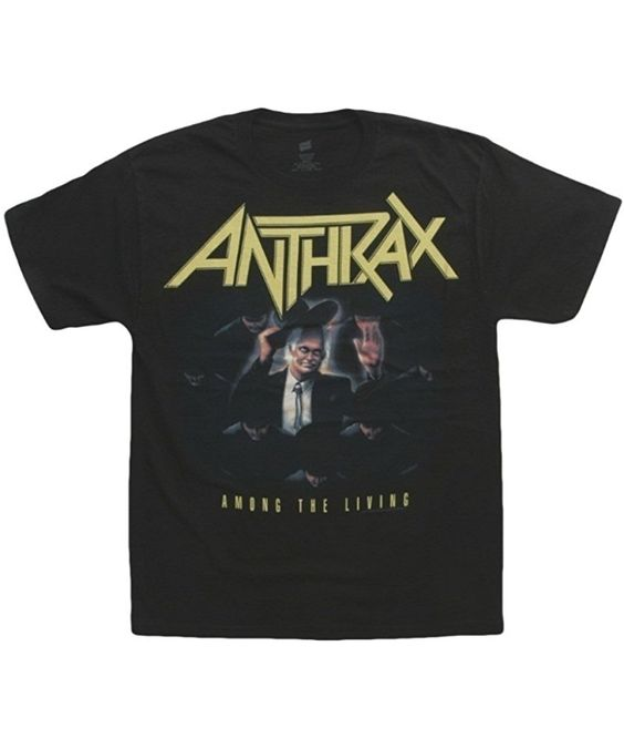 Anthrax Rock Band Small T-Shirt DV01