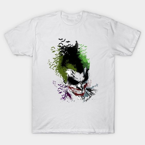 Arkham Laugh Joker T-Shirt SR01
