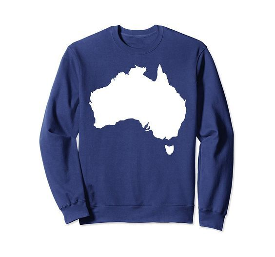 Australia map Sweatshirt FD01
