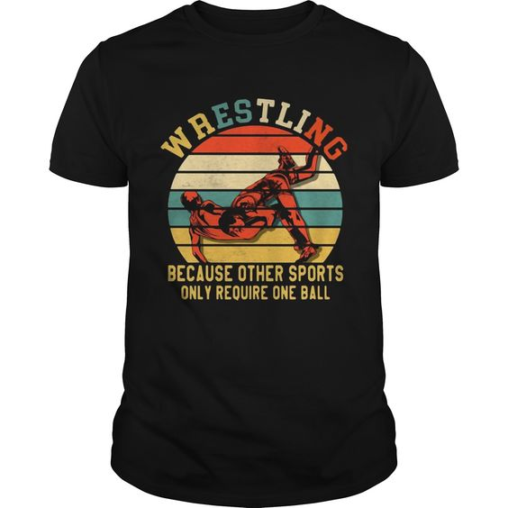 Awesome Wrestling T-Shirt VL01