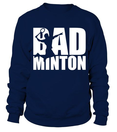 Badminton Player Sport Team Sweatshirt SR01