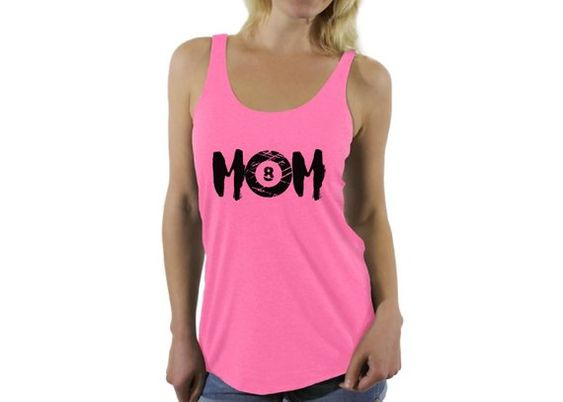 Billards Sport Mom Tank Top EL01
