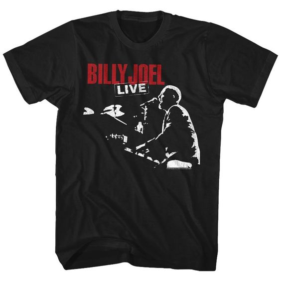 Billy Joel Live Tall T-shirt EL101