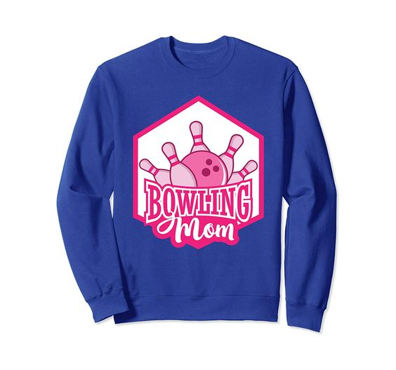 Bowling Mom Sweatshirt SR01