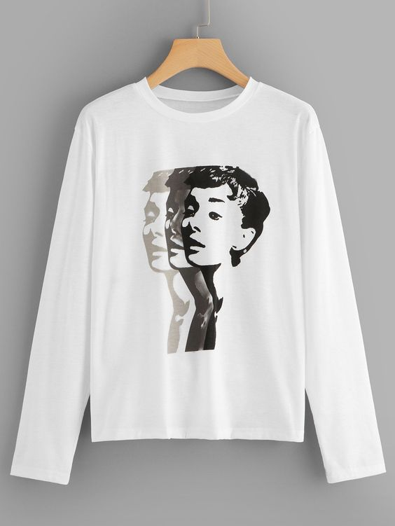 Casual Figure Sweatshirt EL01