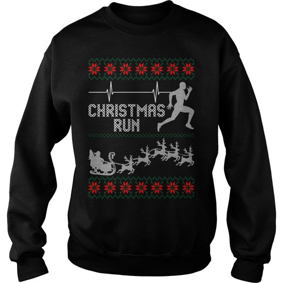 Christmas Run Sweatshirt SR