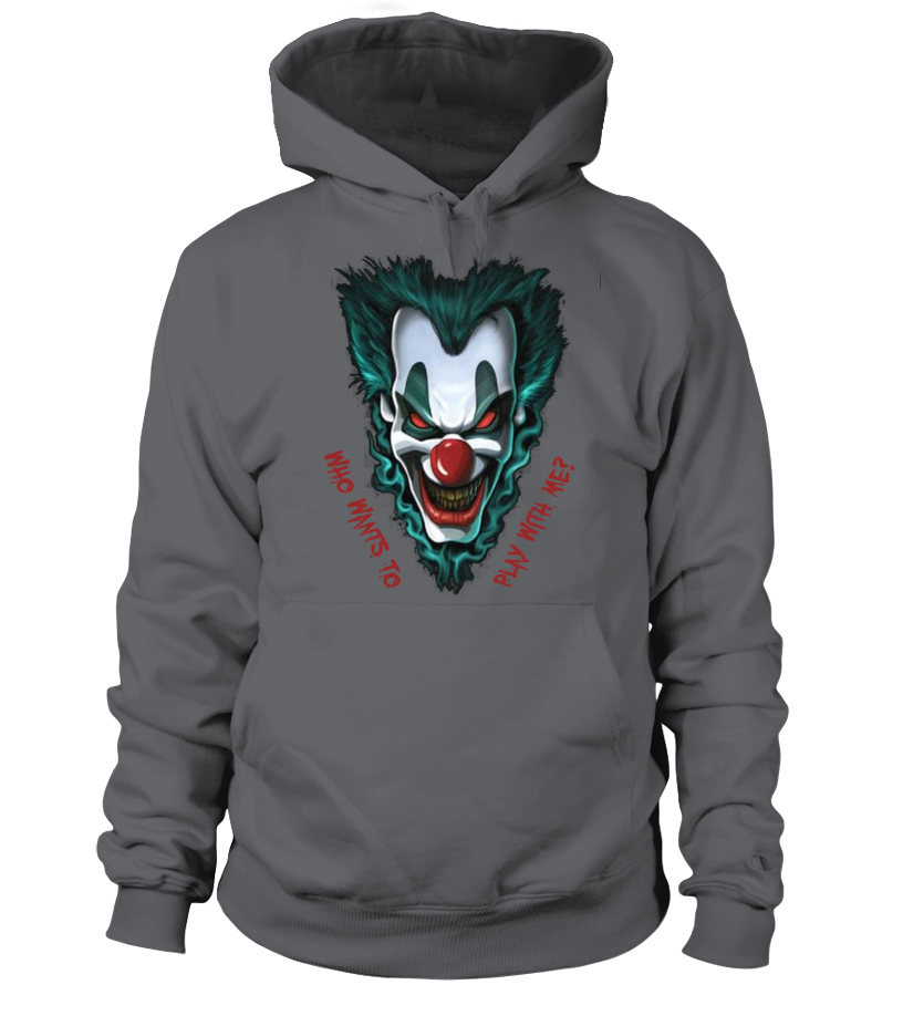 Clown Demon Joker Hoodie SR01