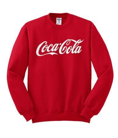 Coca Cola Red Sweatshirt AV29