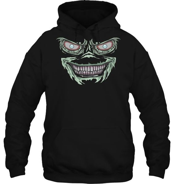 Creepy Lizard Goblin Monster Hoodie EL