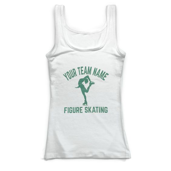 Figure Skating Team Tank Top EL01