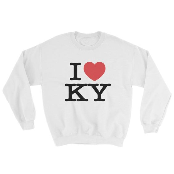 I Heart KY Love Sweatshir AZ01