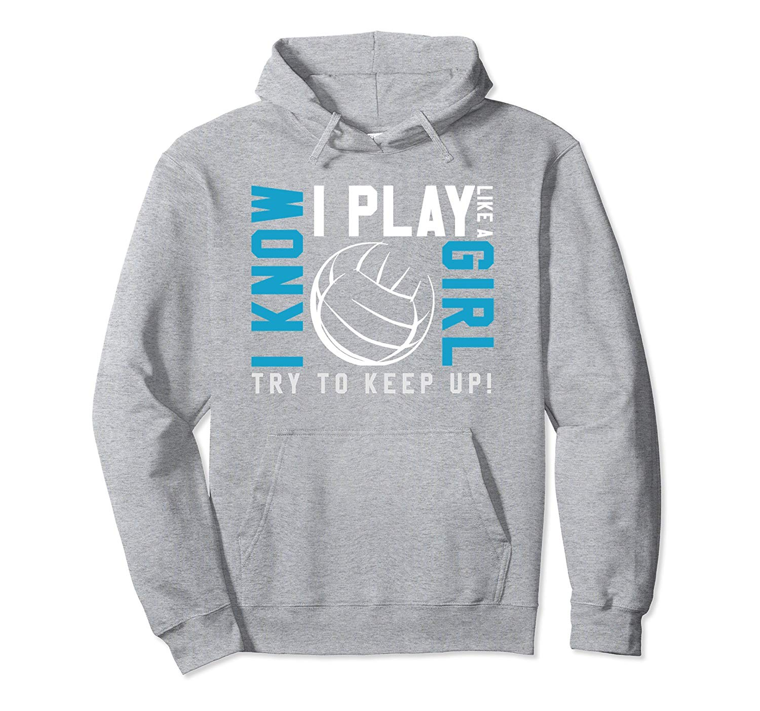 I Play Volleyball Hoodie SR01