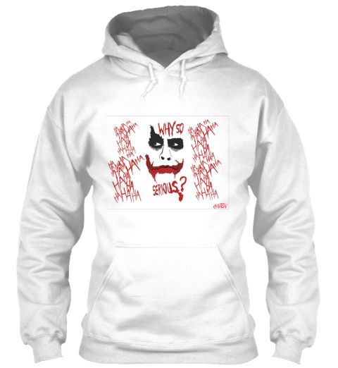 Joker Why So Serious Hoodie SR01