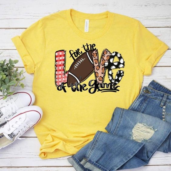 Love The Game T-Shirt VL01