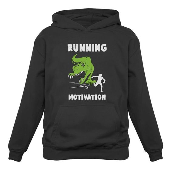 Running Motivation T-Rex Hoodie SR