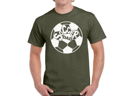 Sports Dad Soccer T-Shirt EL01