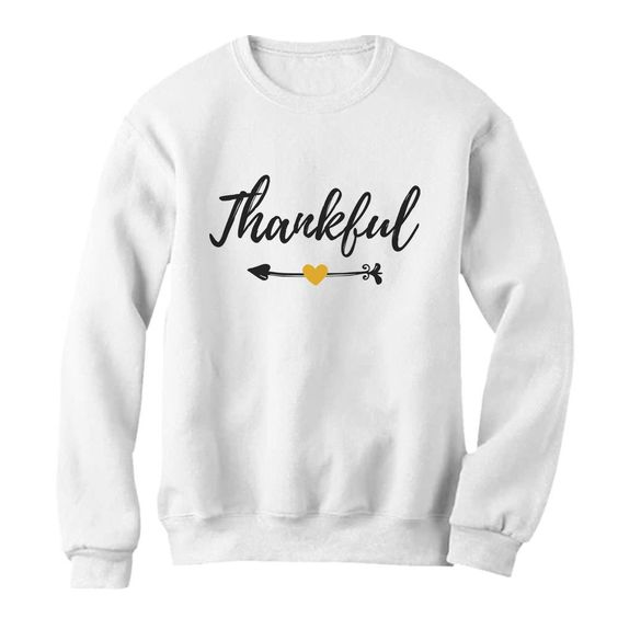 Thankful Christmas Sweatshirt AZ01