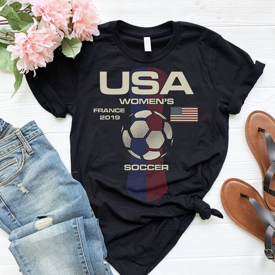 USA Women's France 2019 T-Shirt VL01