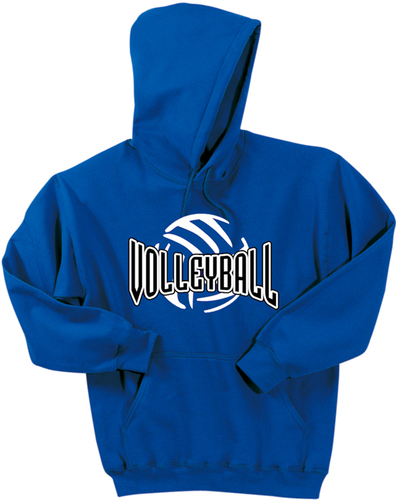 Volleyball Abstract Ball Hoodie SR01