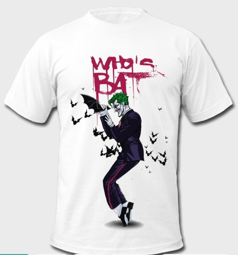 Who Is Bat Joker T Shirt SR01