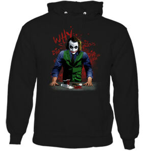 Why So Serious Joker Hoodie SR01
