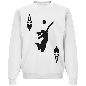volleyball games Sweatshirt SR01