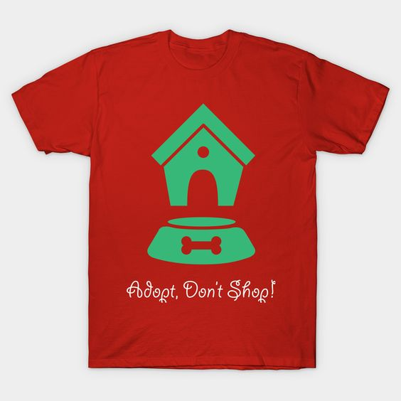 Adopt Don't Shop Tshirt N7EL