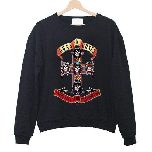 Appetite For Destruction Sweatshirt NR22N