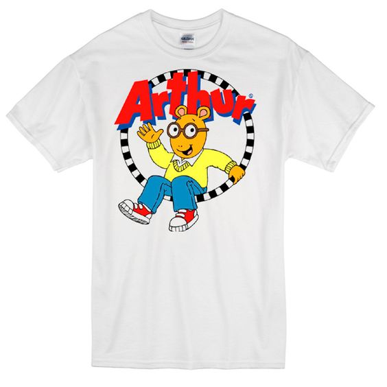 Arthur Cartoon Tee T-Shirt AZ5N