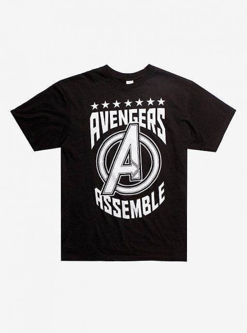 Avengers Assemble Athletic t shirt FD6N