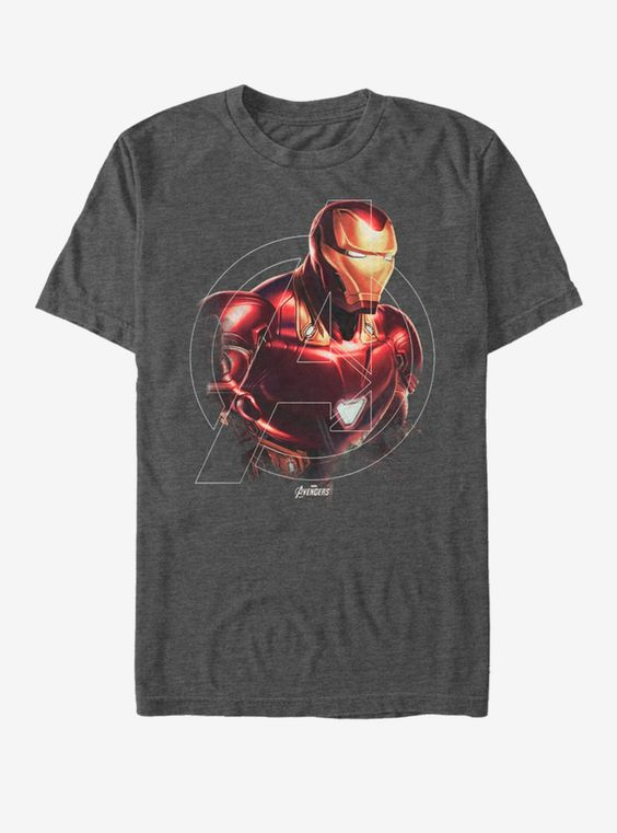 Avengers Iron Man Hero T-Shirt FD6N