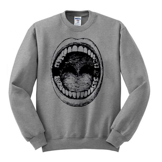 Big Mouth Sweatshirt EL22N
