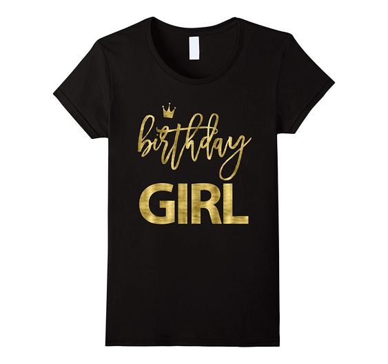 Birthday Girls T-shirt FD2N