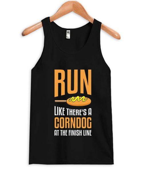 Funny Running Tank Top VL29N