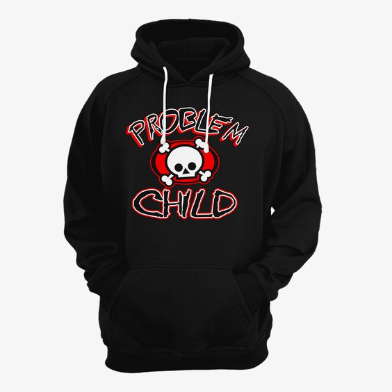 Problem Child Skull Hoodie N30EM