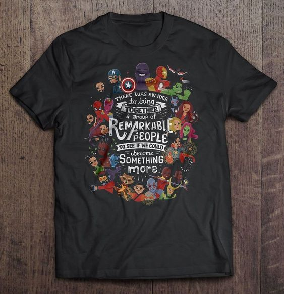 Remarkable People T-shirt FD6N