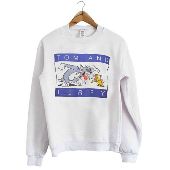 Tom and Jerry Graphic Sweatshirt N15ER
