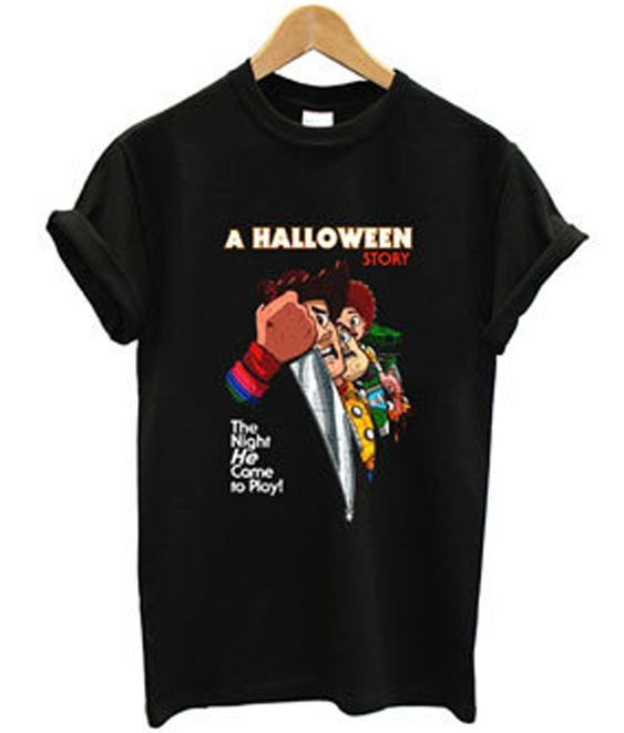 a halloween story the night Tshirt N20AY