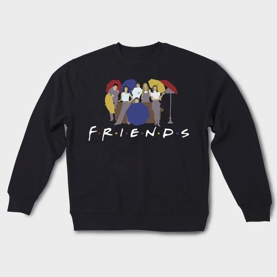central perk friends sweatshirt N26EV