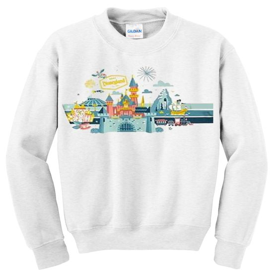disneyland resort sweatshirt EV25N