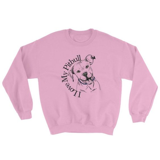 my pitbull sweatshirt N26EV