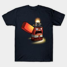 Angry Lighter Tshirt EL23D