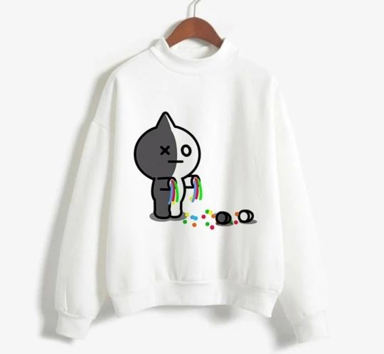 Bt21 Tear Sweatshirt D2AZ